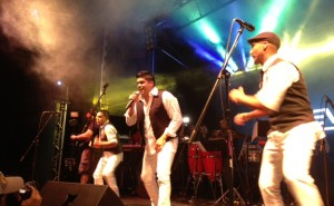 Jerry Rivera performs at Festival Cubano 2013 - Festival Cubano 2013 - Photo courtesy of David Delamancha